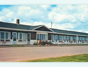 1983 Mid Isle Motel & Restaurant In Central Bedeque Pei Canada s8729