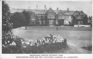 BR101668  hospital saturday fund birmingham tyn y coed llanrhos uk