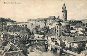 Czech Republic Krumau Schloss 02.33