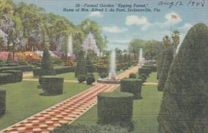 Florida Jacksonville Formal Garden Epping Forest Home Of Mrs Alfr...