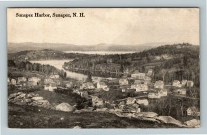 Sunapee NH-New Hampshire Sunapee Harbor, Vintage Postcard