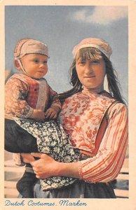 Dutch Costumes Marken Holland Unused
