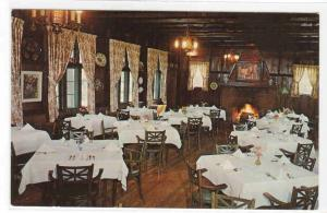 Boders Restaurant Interior Milwaukee Wisconsin postcard