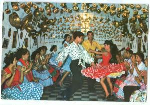Spain, Bailaores del Sacromonte, Cueva de la Rocio, 1963 used Postcard