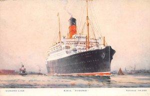 RMS Ausonia Cunard Line Ship Unused