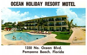 Florida  Pompano Beach  Ocean Holiday Motel