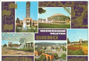Czech Republic, Mezinarodni Veletrh BRNO, 1982 used Postcard