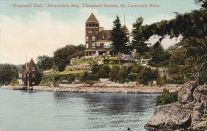 THOUSAND ISLANDS, Ontario, Canada, 1900-1910´s; Hopewell Hail, Alexandria ...