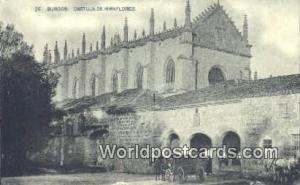 Spain Postcard España Tarjeta Postal Cartuja de Miraflores, Burgos  Cartuja ...