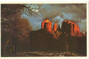 Courthouse Rock, Redrock Crossing, Sedona, Arizona Postcard