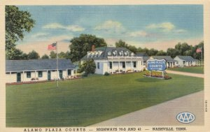 NASHVILLE , Tennessee, 1930-40s ; Alamo Plaza Courts