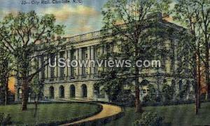 City Hall, Charlotte Charlotte NC 1948