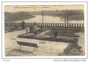 Chateau-la-Valliere, Le Lac, vu de l'Hopital, Lake View From Courtyard, 00-10...