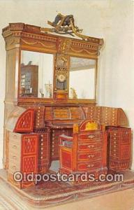 St Augustine, FL, USA Famous Napoleon Desk, Lightner Museum of Hobbies
