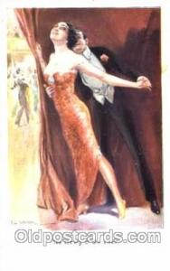 series 1067 Artist Lottie Usabel (Italian) Postcard Post Card Series 1067 ser...
