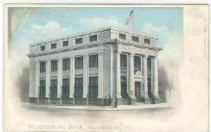 Wilkinsburg Bank, Wilkinsburg, Pennslyvania, Pre1907