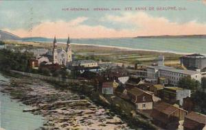 Canada Ste Anne De Beaupre General View 1913