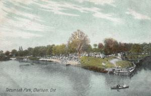 CHATHAM , Ontario , Canada , 1900-10s ; Tecumseh Park