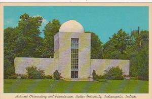 Indiana Indianapolis Holcomb Observatory and Planetarium Butler University