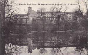 Pennsylvania Philadelphia Fournier Hall Mount St.Joseph College Albertype