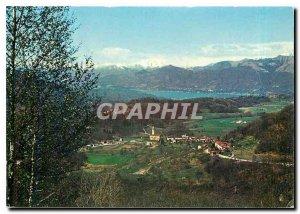 Modern Postcard Panorama knew Sessa Lago Maggiore e Monta Rosa