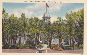 State Capitol Building Carson City Nevada