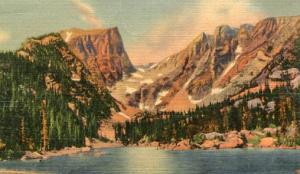 CO - Rocky Mountains National Park, Dream Lake & Hallett Peak