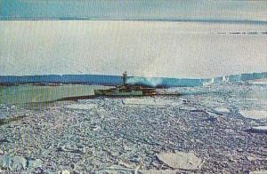 U S COAST GUARD ICE BREAKER GLACIER WAGB-4
