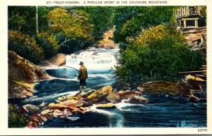 North Carolina Trout Fishing In The Mountains