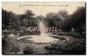 Rive de Gier - Botanical Garden - Old Postcard