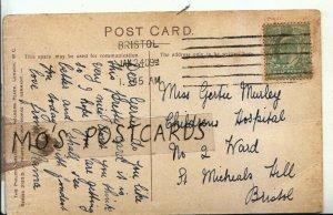 Genealogy Postcard - Murley - No 2 Ward - St Michaels Hill - Bristol - Ref 9637A