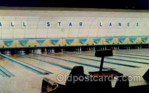 The Lynnway, Lynn, Mass USA, All Star Lanes, Bowling Postcard Postcards  Lynn...