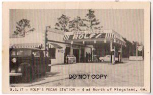 Rolf's Pecan Gas Station, Kingsland Ga