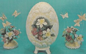 EGG-QUISTE-EGG, National Handicraft , DES MOINES , Iowa , 1950-60s