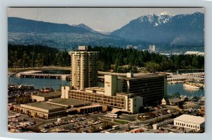 Vancouver BC-British Columbia Canada, Bayshore Inn, Chrome Postcard