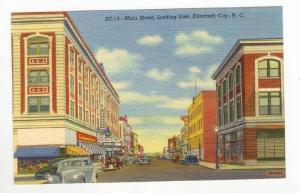 Main Street,Looking East,Elizabeth City,NC,1930-1940s