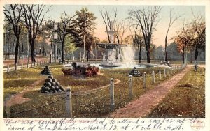 Soldiers' Memorial Fountain in Poughkeepsie, New York
