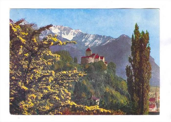 Castle Vaduz, Residence of Ruling Prince Franz-Joseph II, Principality of Lie...