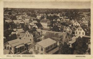 suriname, PARAMARIBO, Binnenstad, Inner City (1927) C. Kersten & Co., Postcard