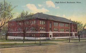 ROCHESTER, Minnesota, 1900-1910's; High School