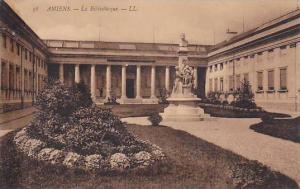 Amiens.-La Bibliotheque [ library ] , France, 00-10s