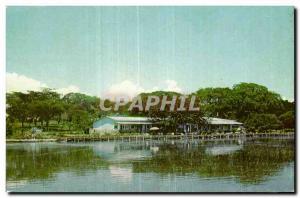Postcard Modern Ethiopia Ethipioa Bellevue Lake Hotel