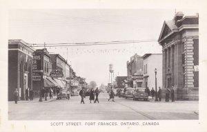 RP: FORT FRANCES , Ontario , Canada , 30-40s ; Scott Street