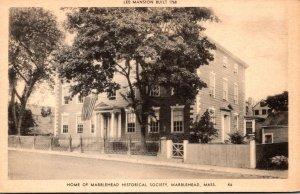 Massachusetts Marblehead Lee Mansion Built 1768 Home Of Marblehead Historical...