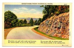 MA - Hinsdale. Greetings!