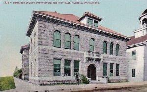 Thurston County Court House And City Hall Olympia Washington