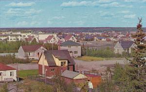 Canada View From Matonbbee Avenue Yellowknife Northwest Territories