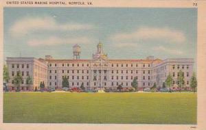 Virginia Norfolk United States Marine Hospital