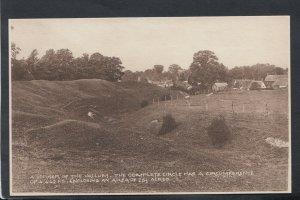 Roman Postcard - A Corner of The Vallum - The Complete Circle   RS12665