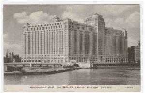 Merchandise Mart Building Chicago Illinois C R Childs postcard